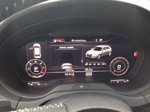 Première vidéo de l'Audi A3 restylée : découvrez les premières images de l'essai en live
