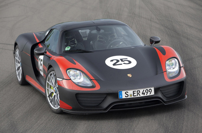 Toutes les nouveautés du salon de Francfort 2013 – Porsche 918 Spyder, enfin en version définitive