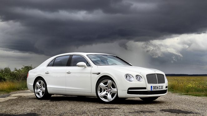 Essai Vid 233 O Bentley Flying Spur V8 Access First Class