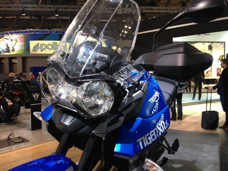 En direct de l'EICMA : Triumph Tiger 800 XR, XRx, XC et XCx