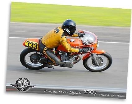Moto légende à Dijon