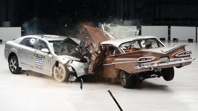 """Sécurité : les """"muscle cars"""" actuelles sont de mauvais élèves"""