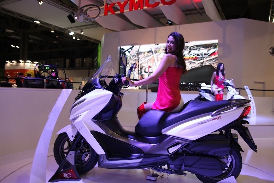 En direct de l'EICMA : Kymco Agility Maxi 300 cm3