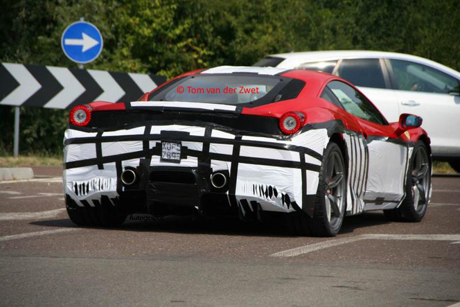 Surprise : la future Ferrari 458 Monte-Carlo