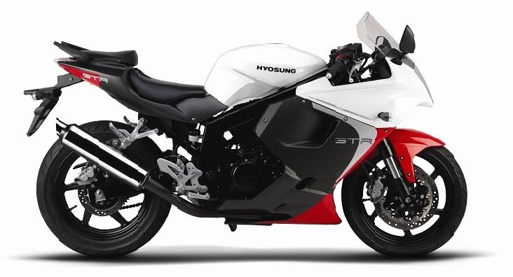 Nouveautés Hyosung : quelques évolutions sur les GTR 125/650 cm3