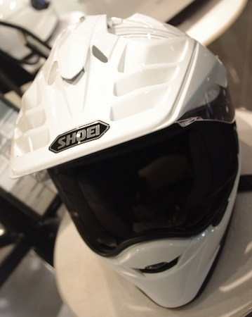 En direct de l'EICMA: Shoei