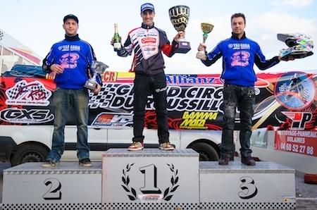 Supermotard, championnat de France 2013: Bidart empoche Rivesaltes