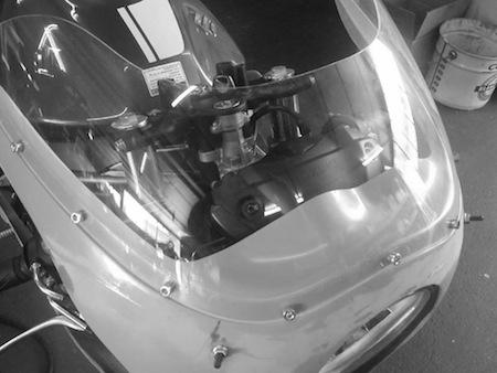 Suzuki: sous le signe de la prépa lors du Café Racer Festival