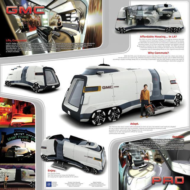 GMC PAD, le camping car du futur