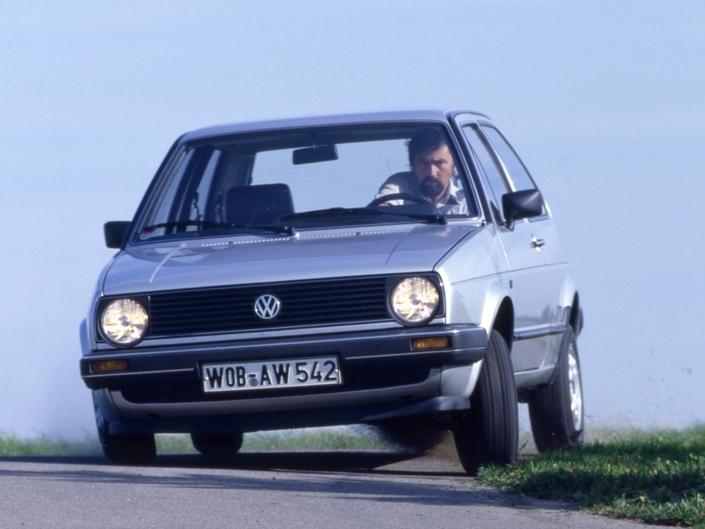 Volkswagen Golf II 90 ch (1984-1991) : il n'y a pas que la GTI dans la vie, dès 2 000 € - Caradisiac.com