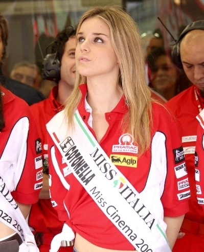 Les demoiselles du Paddock : GP d'Italie