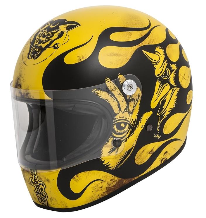 Premier Helmets Trophy BD 12 BM: custom attitude