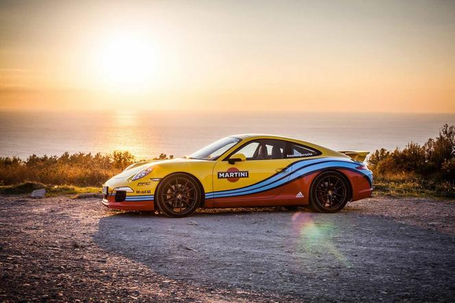 Porsche et Martini: une histoire d'amour aux nuances multiples