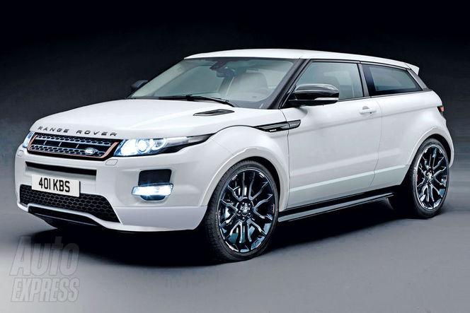 Un Range Rover Evoque Sport pointe à l'horizon