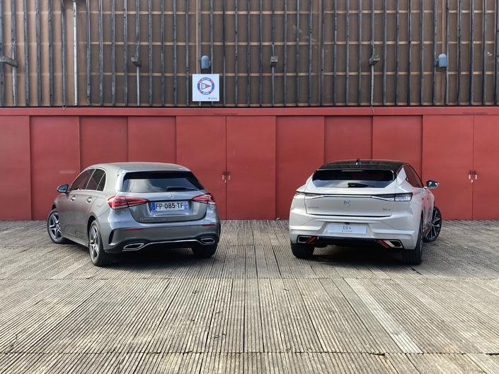 Video comparison - DS 4 VS Mercedes Class A: start of a rivalry
