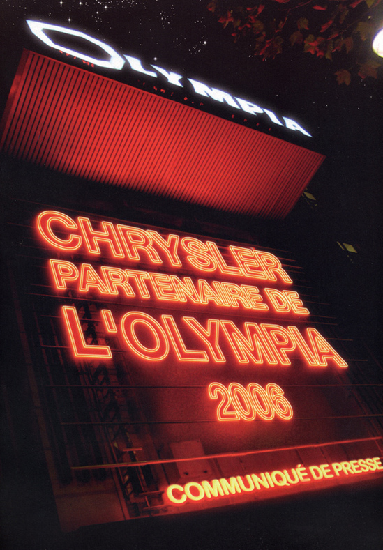 Chrysler fait son show