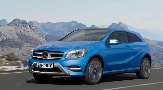 Futur Mercedes GLA: la famille s'agrandit