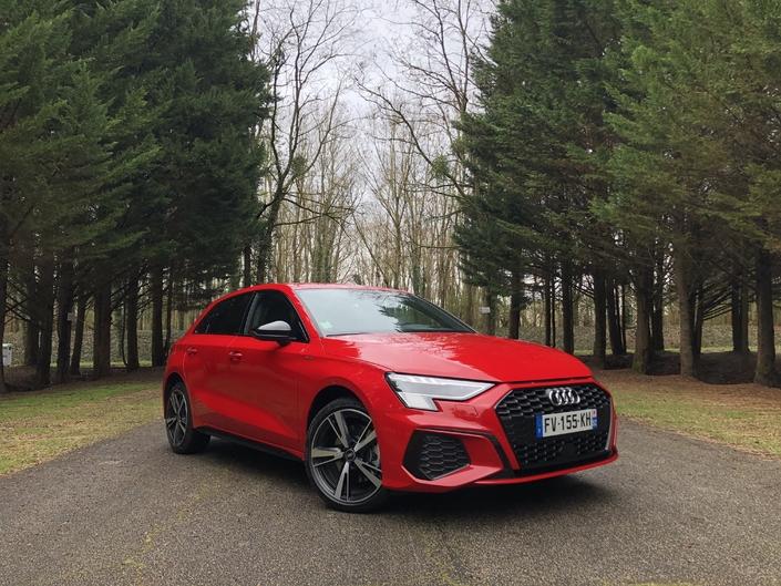 Essai - Audi A3 40 TFSi e (2021) : performante mais pas distinctive - Caradisiac.com