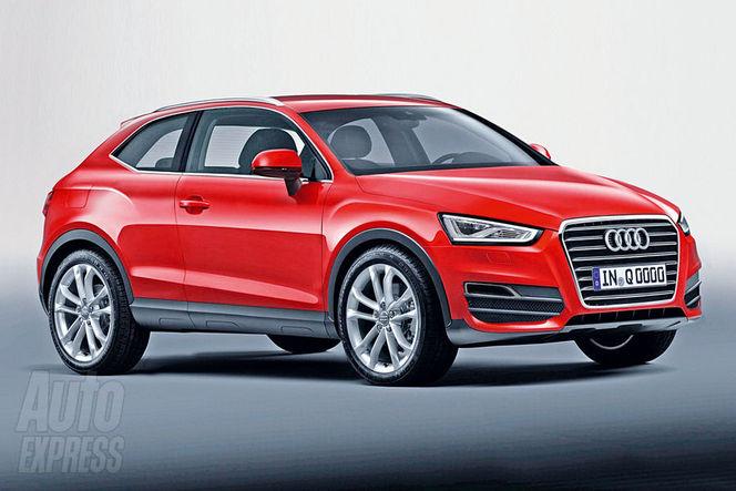 Futur Audi Q2: le Nissan Juke n'a qu'à bien se tenir...