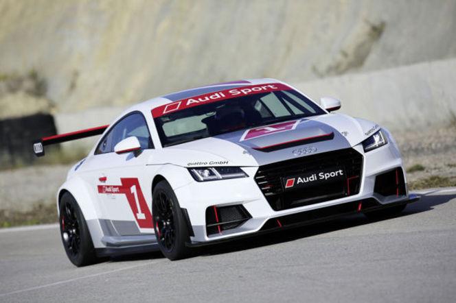 Audi lance une TT Cup dès 2015!