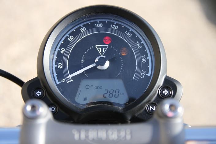 Essai Triumph Speedmaster – Chère anglaise, en mi-teinte