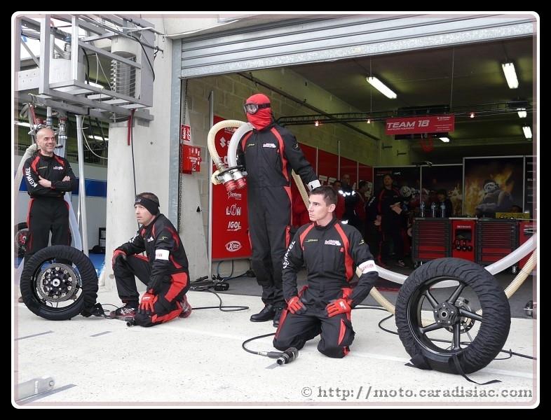 24 h du Mans 2009 : interview : Le team 18 pense déjà à Oschersleben