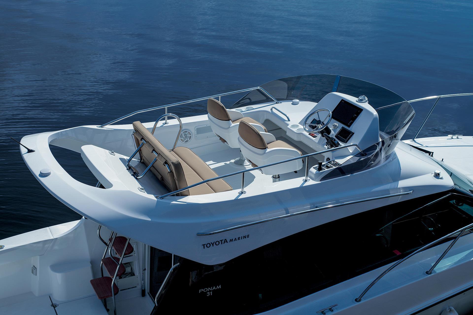 toyota lance un nouveau bateau de plaisance. Black Bedroom Furniture Sets. Home Design Ideas