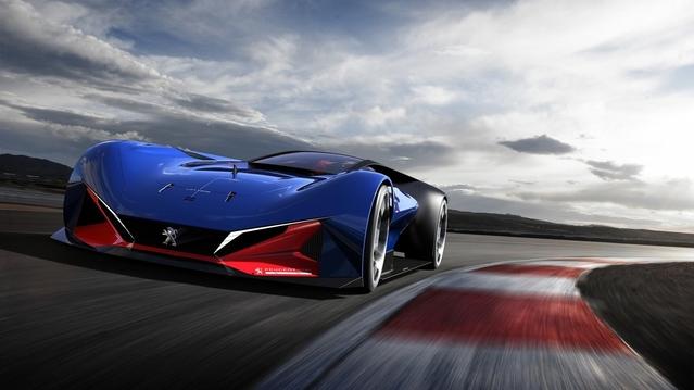 Peugeot L500 R HYbrid : le concept hommage aux 500 miles d'Indianapolis