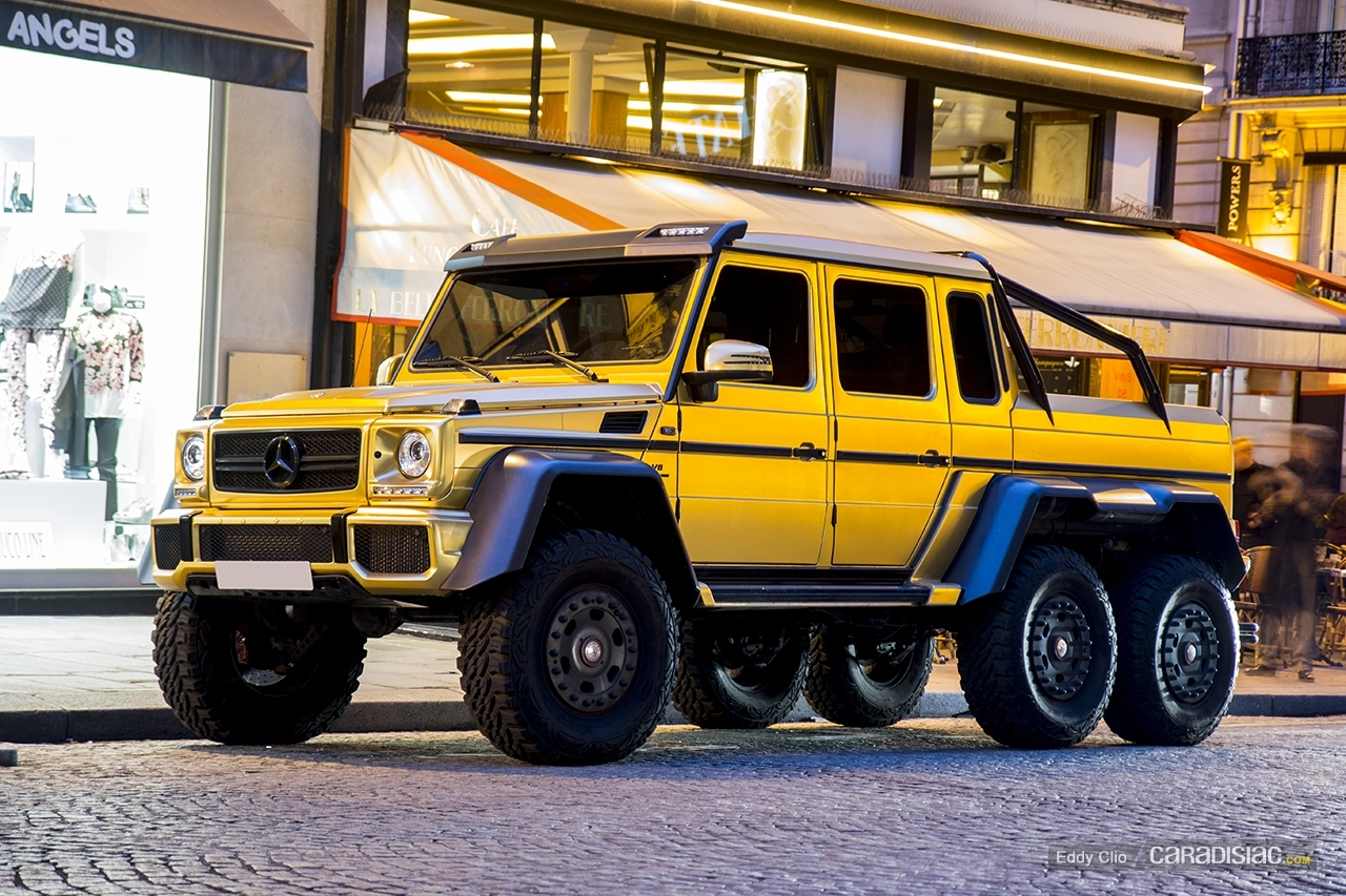 Photos du jour : Mercedes Classe G AMG 6X6