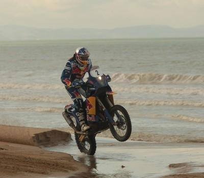 Rallye de Tunisie 2009: étape 1, Desprès donne le ton...