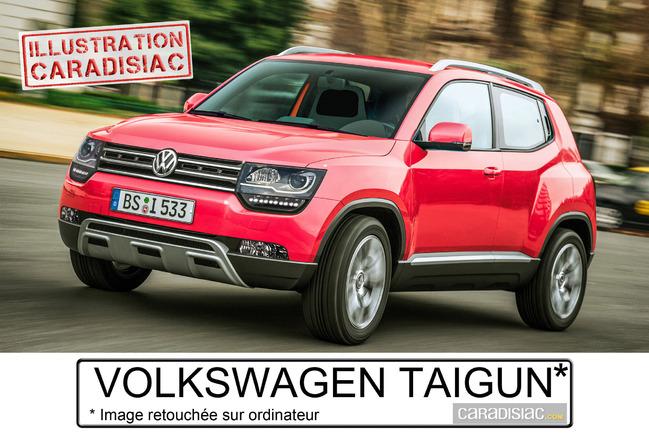 Volkswagen Taigun : le petit frère du Tiguan prêt pour 2016 !
