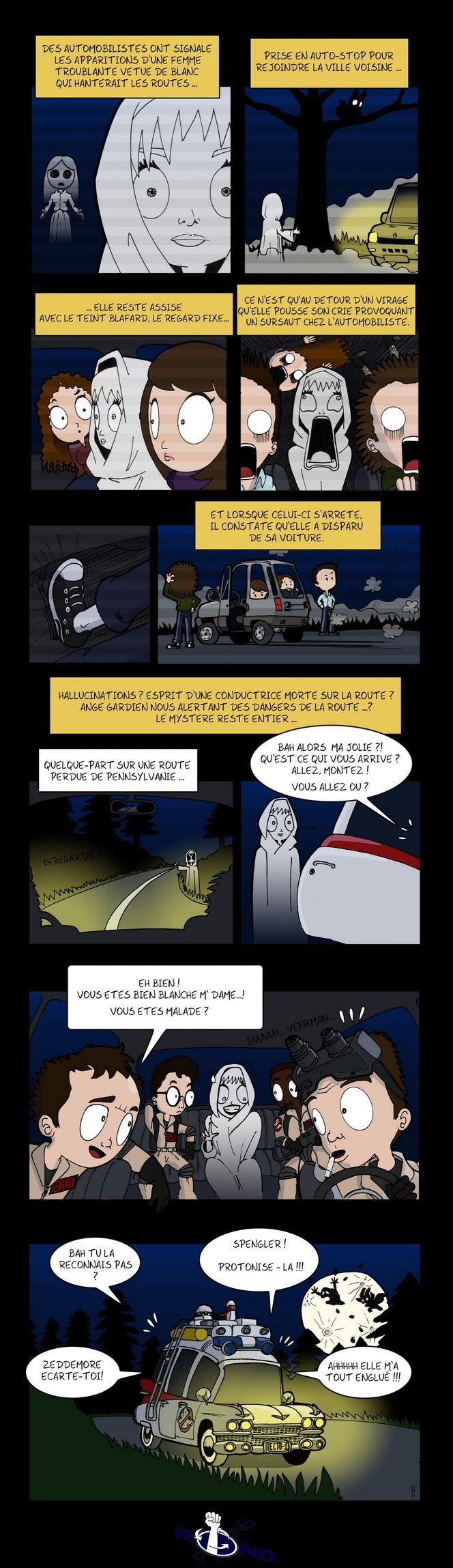 Rond-Poing, Episode 18: Auto-stop pour l'au-delà.