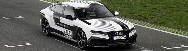 Concept Audi RS7 piloted driving: y a-t-il un conducteur au volant?