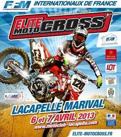 MX France - Elite : Rendez-vous à Lacapelle-Marival ce dimanche