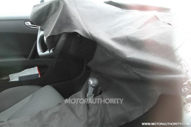 Futur Audi TT : le mulet