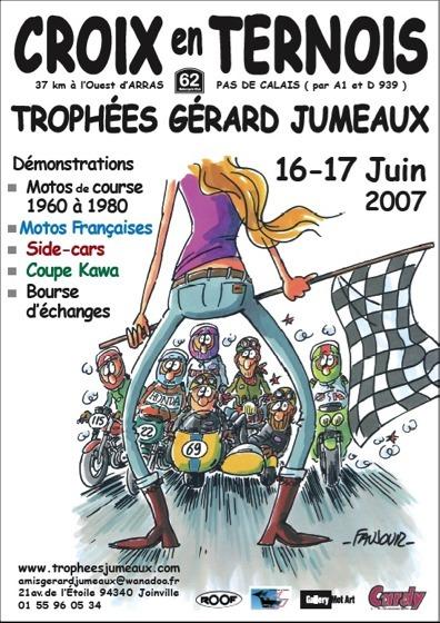 Rendez vous aux Trophées Gérard Jumeaux : les 16 et 17 Juin au circuit  de Croix en Ternois