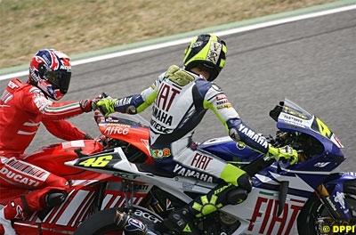 Moto GP: Catalogne: L'Hommage divin de Rossi à Stoner.