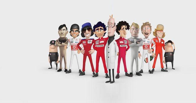 Tooned : les 50 ans de McLaren en dessin animé
