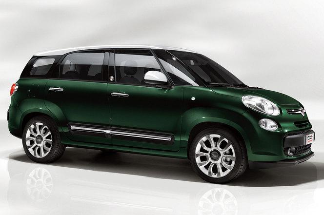 Toutes les nouveautés du salon de Francfort 2013 - Fiat 500 L Living : gigantesque