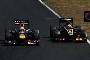 F1 : Lotus estime que Vettel a ruiné la course d'un Grosjean défendu par Massa