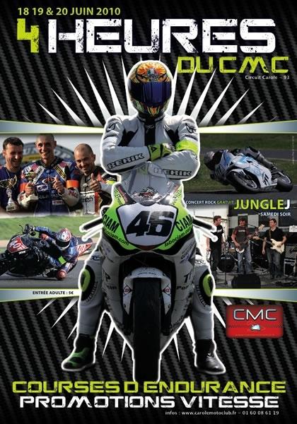 4 heures du Carole Moto Club, du 18 au 20 juin prochain