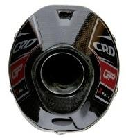 Ligne CRD GP X-race titane pour KTM 350 SX-F (2011).