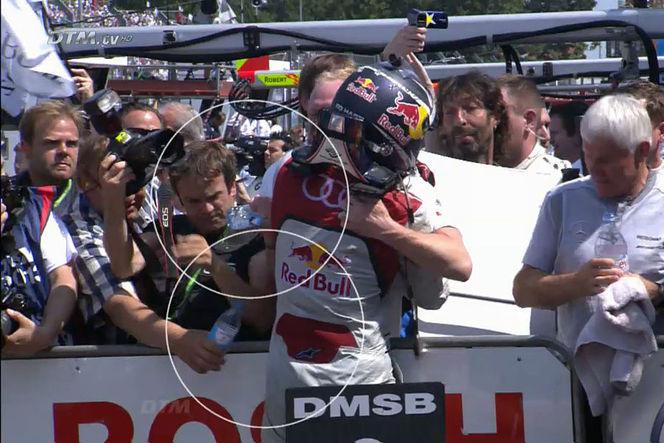 La manière la plus stupide de perdre une course : Mattias Ekström en DTM