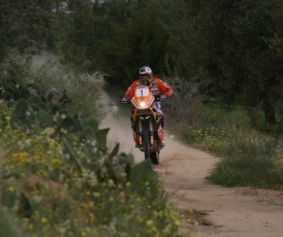 Rallye de Tunisie: étape n°2, Coma aux commandes.