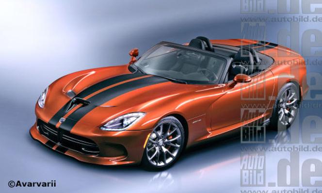 Future SRT Viper Roadster: comme ça...