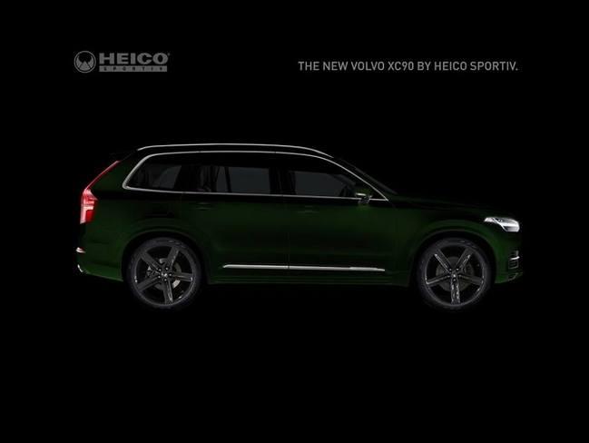 Le Volvo XC90 passe entre les mains d'Heico Sportiv
