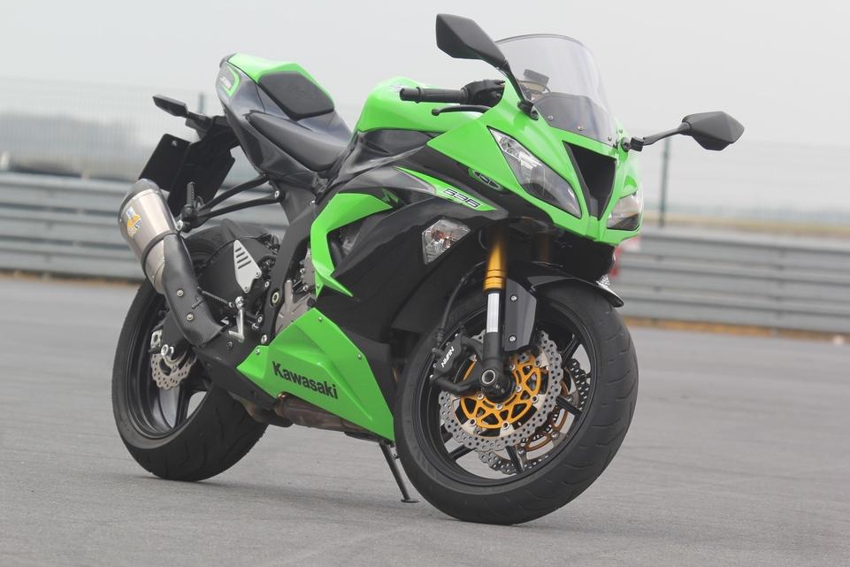 Les essais d'Arnaud Vincent : la Kawasaki Ninja ZX-6R 636 2013