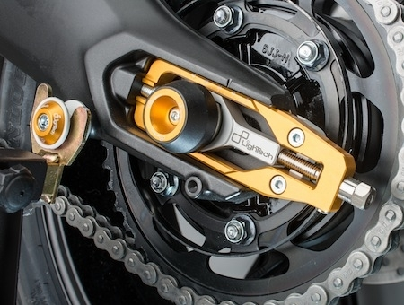 Lightech et la Yamaha MT 09 Tracer