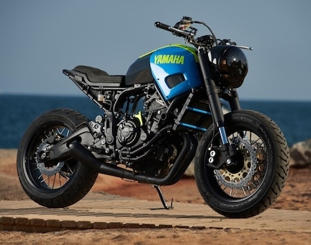 Yard Built: Yamaha XSR700 Otokomae made in Ad Hoc Café Racers (vidéo)