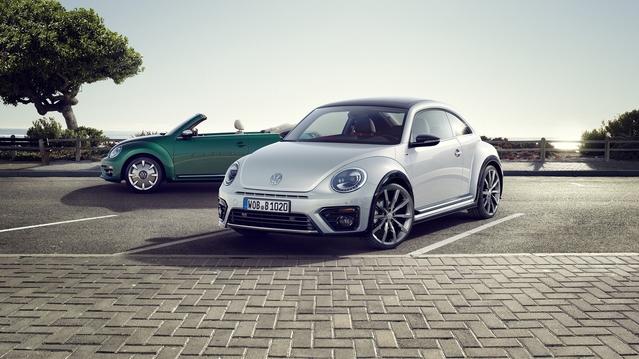 Volkswagen dévoile un léger restylage pour la Coccinelle
